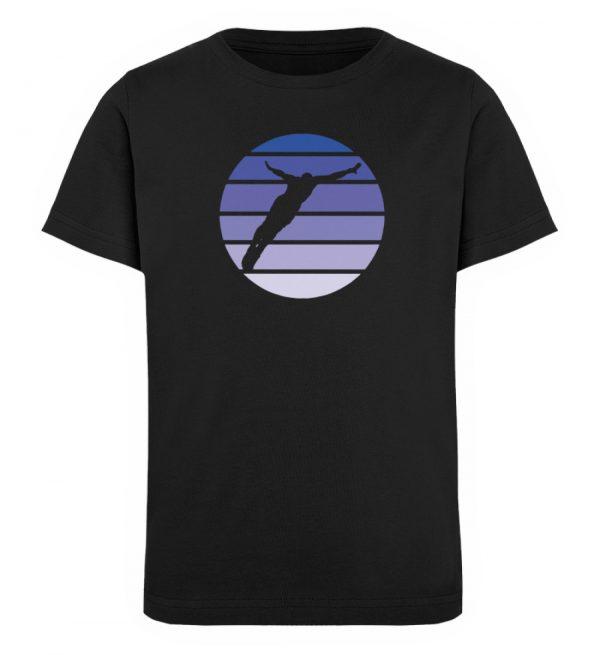 KIDS - Diver Sun - Organic Shirt - TSCB - Kinder Organic T-Shirt-16