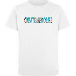 KIDS - Create Memories - Organic Shirt - Kinder Organic T-Shirt-3